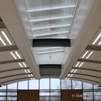 Silver award winning ceiling completed by BSE at 'Kew Gardens'